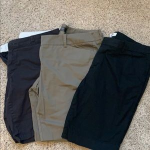 3 pairs of shorts size 16